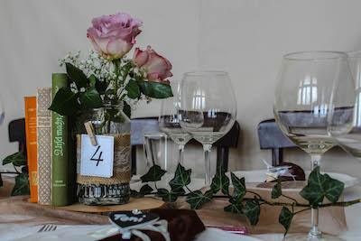 Happily Ever After Hochzeit Verleih Berlin Tischnummern 5