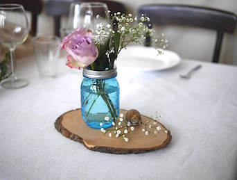 Happily Ever After Hochzeit Verleih Berlin weitere Tischdekoration
