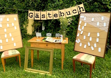 Fotobooth Gastebuchstation Happily Ever After