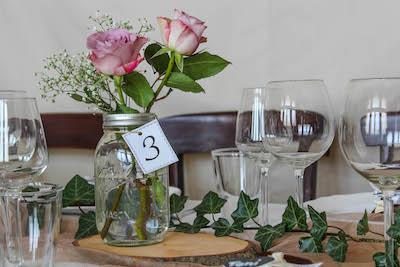 Happily Ever After Hochzeit Verleih Berlin Tischnummer