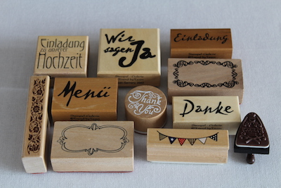 Happily Ever After Hochzeit Verleih Berlin Stempel DIY Papeterie