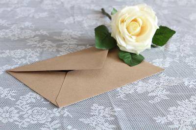 Happily Ever After Hochzeit Verleih Berlin Umschläge Packpapier