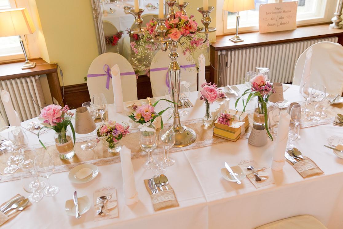 Hochzeit Tischdeko Kerzenstander Tischdeko Mit Kerzenleuchter U
