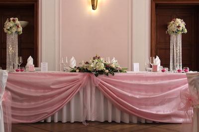 Tischdecken bordeaux mieten. Für deine wundervolle Hochzeit