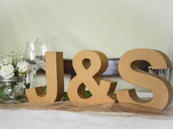 Happily Ever After Hochzeit Verleih Berlin Buchstaben